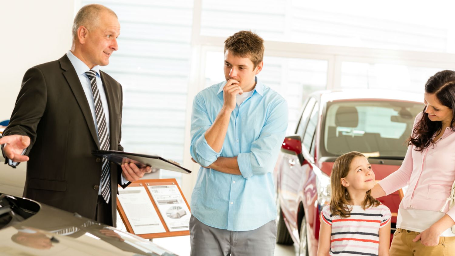 Do you haggle when buying a new car? One in seven buyers don't – because they think it's RUDE