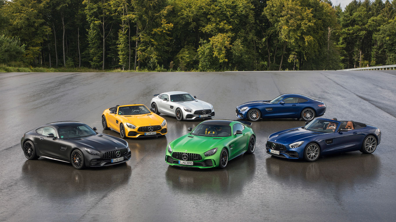 Track test: which is the best Mercedes sports car?