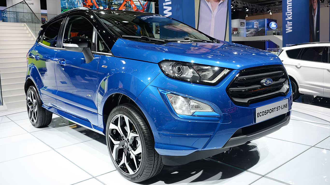 Ford makes the Ecosport even uglier