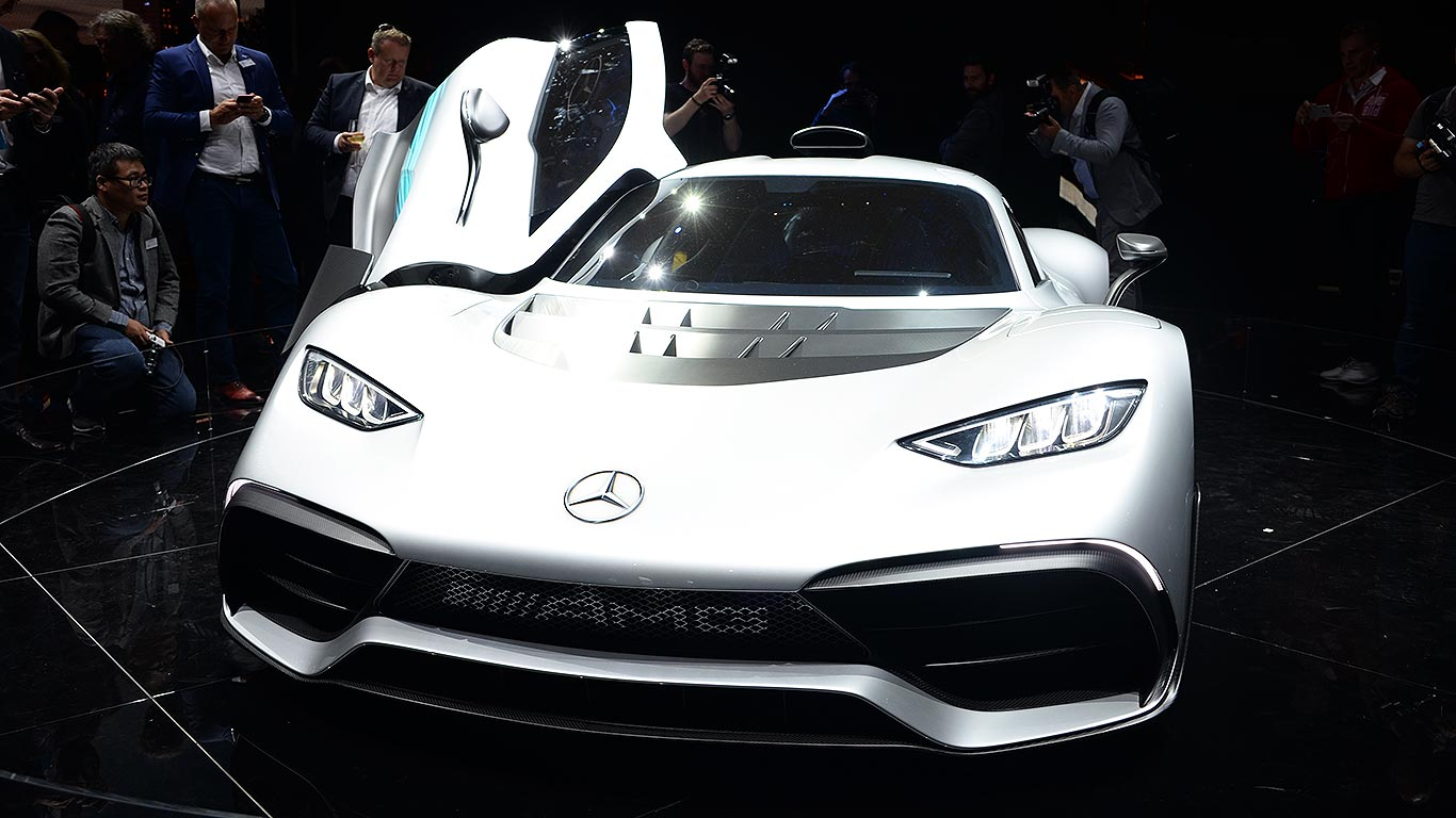 Mercedes-AMG manages to make even a 1,000hp supercar look bland
