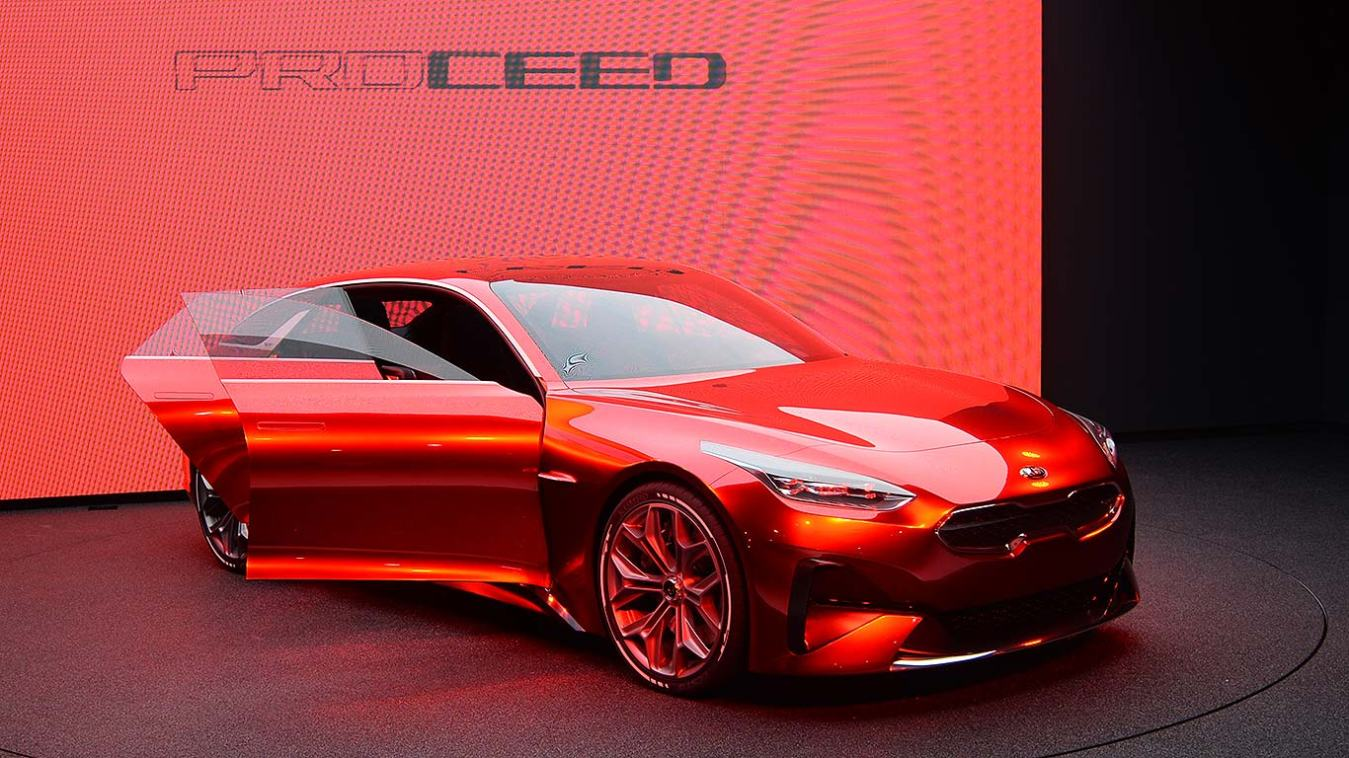 Kia's Proceed shooting brake is one of the sexiest cars of the show