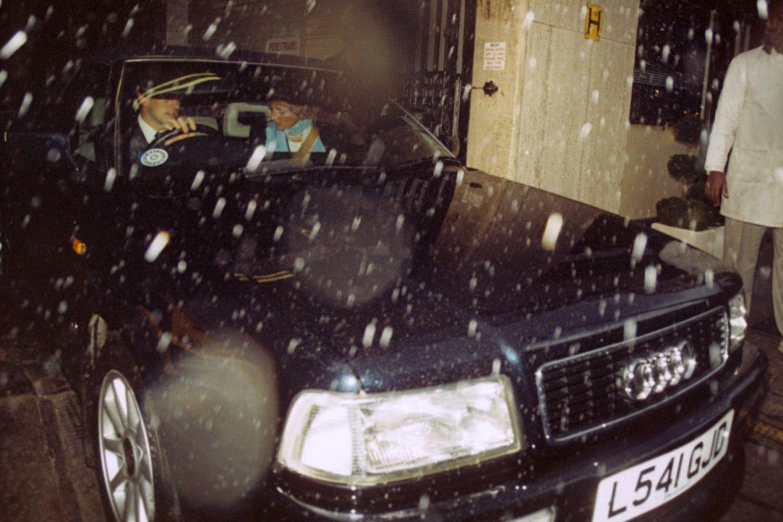 Princess Diana Audi L541 GJD