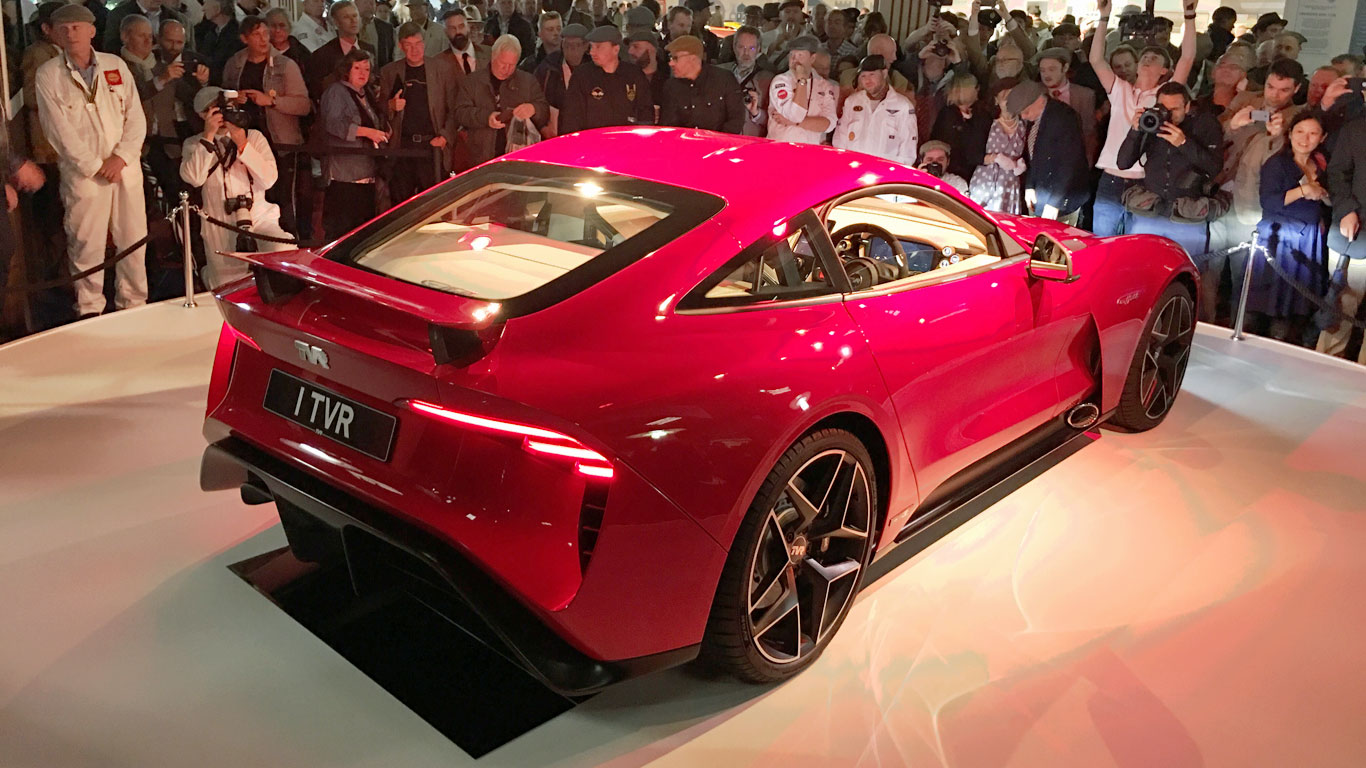 New TVR Griffith revealed at Goodwood Revival