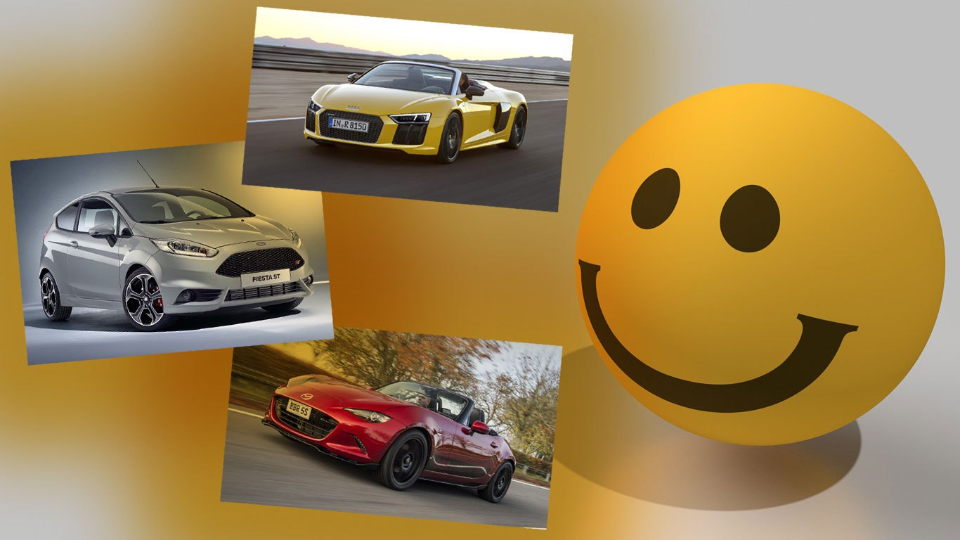 World Smile Day: 10 cars that make us happy
