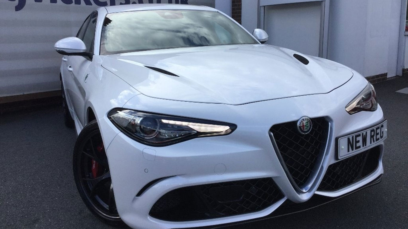 Alfa Romeo Giulia Quadrifoglio: £59,990