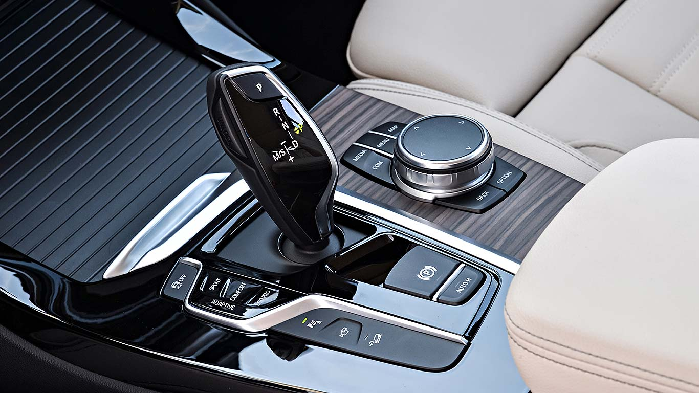 BMW auto gearbox shifter