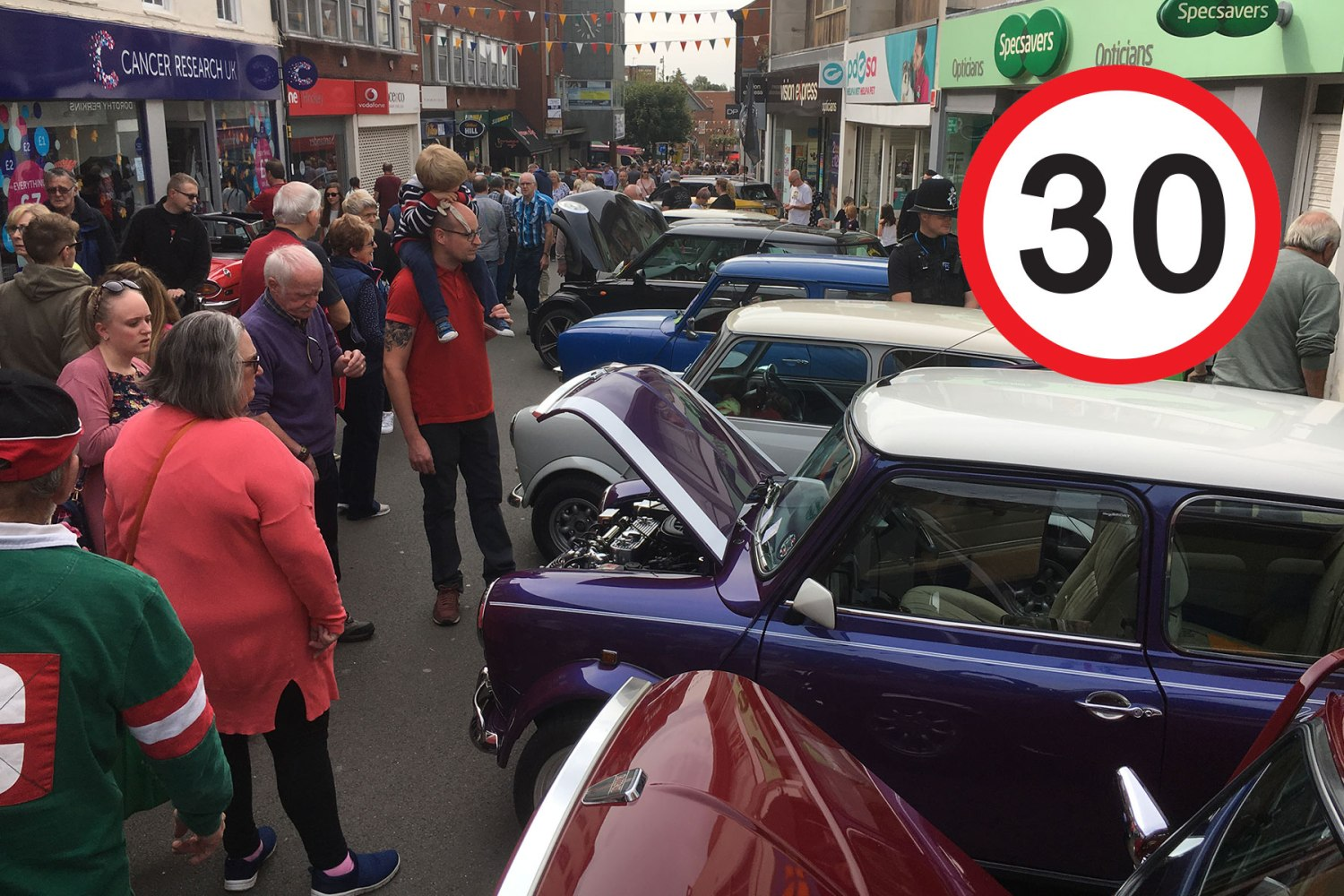 Leicester is a classic car hotspot