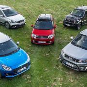 Suzuki car range 2017
