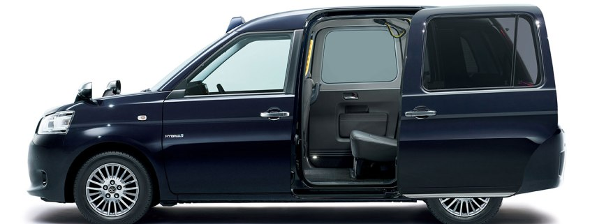 The JPN Taxi is Toyota's take on the black cab