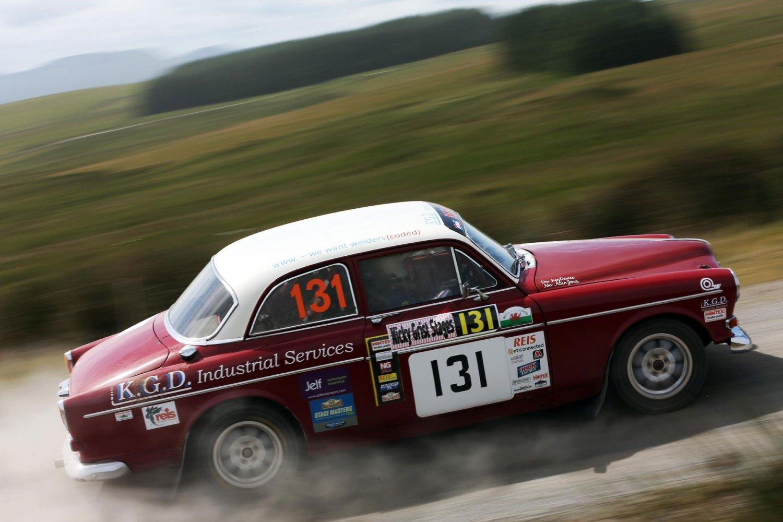 Volvo Amazon rally car