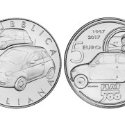 30-second news: this €5 coin celebrates 60 years of the Fiat 500