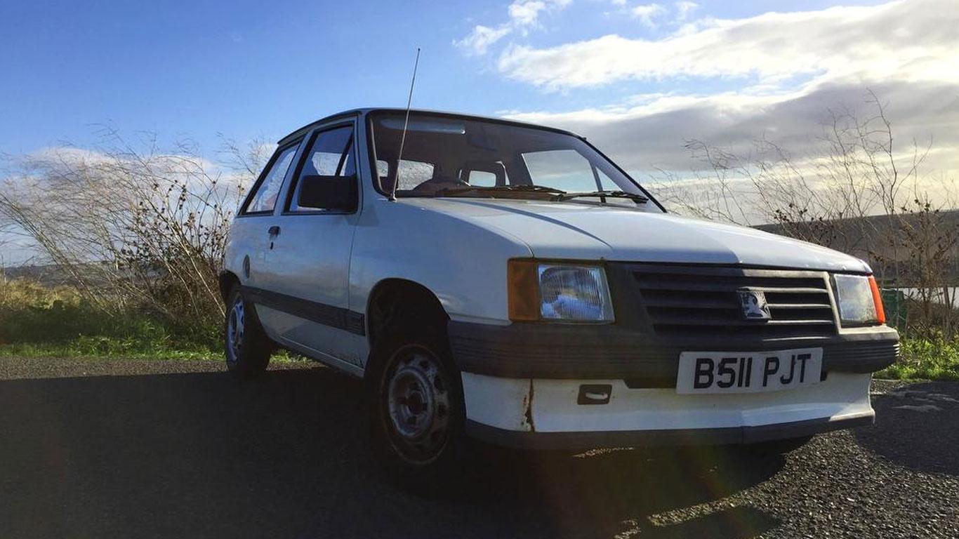 Vauxhall Nova: £1,195
