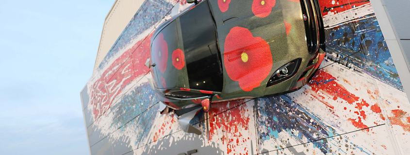 Jaguar F-Type red poppy