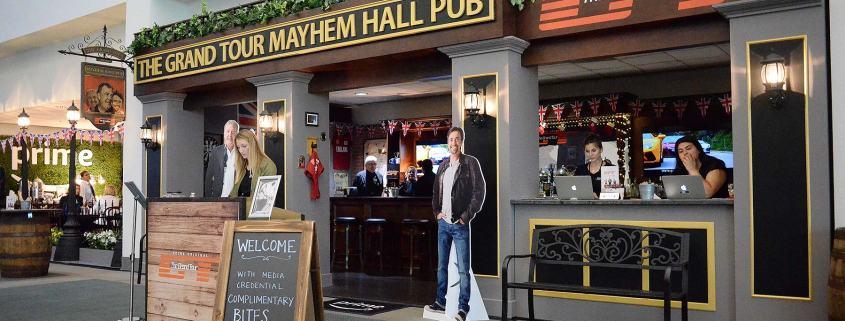 The Grand Tour Mayhem Hall Pub