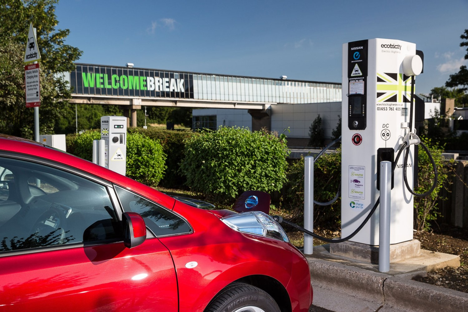 £540 million investment in electric cars