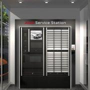 Audi digital service station