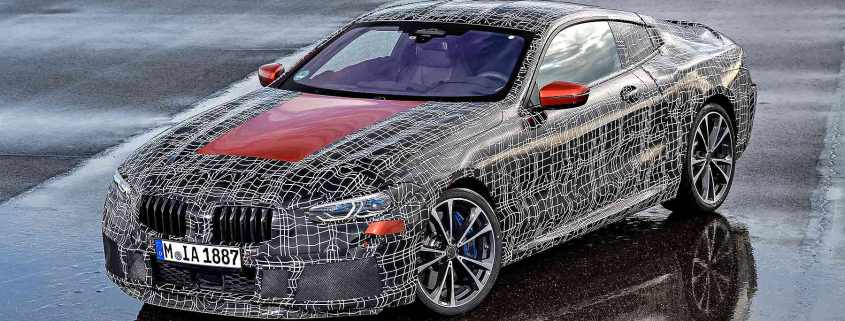 BMW 8 Series Coupe in testing