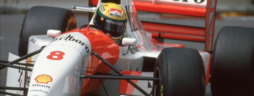 McLaren-Ford MP4/8 Ayrton Senna