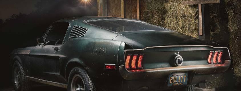 Original 1968 Mustang Bullitt barn