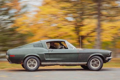 Original 1968 Mustang Bullitt