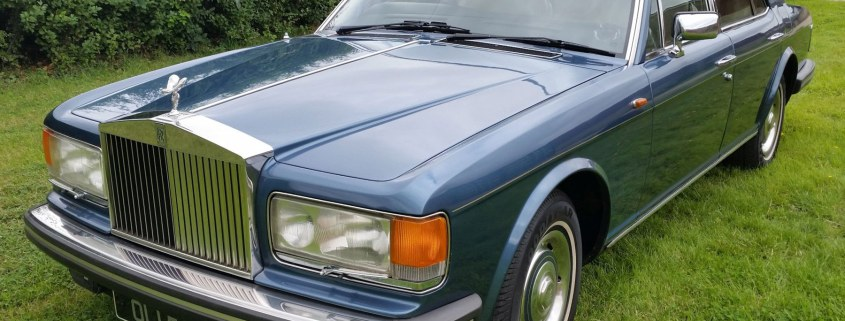 You're hired! Lord Alan Sugar buys Rolls-Royce he owned in 1982