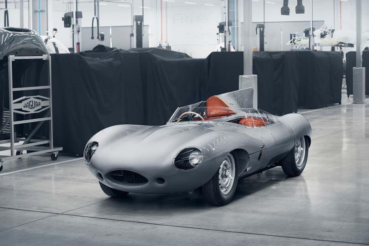 2018 Jaguar Classic D-type