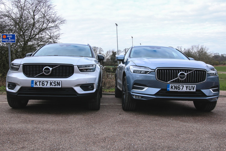 Volvo XC40 and XC60