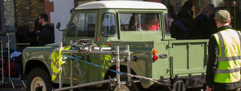 Peter Rabbit Land Rover