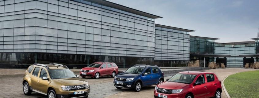 Dacia UK range
