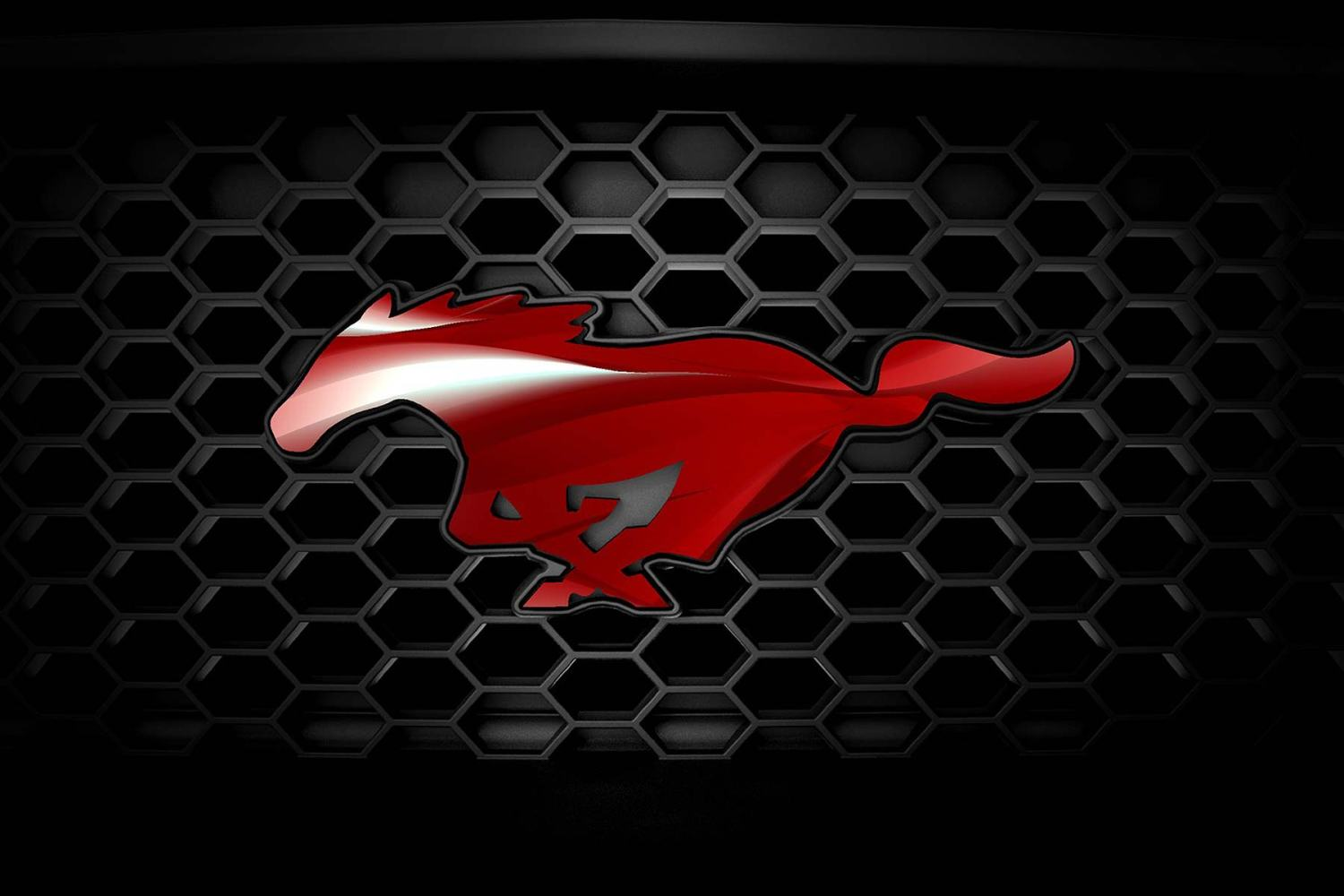 Ford Mustang badge customizer