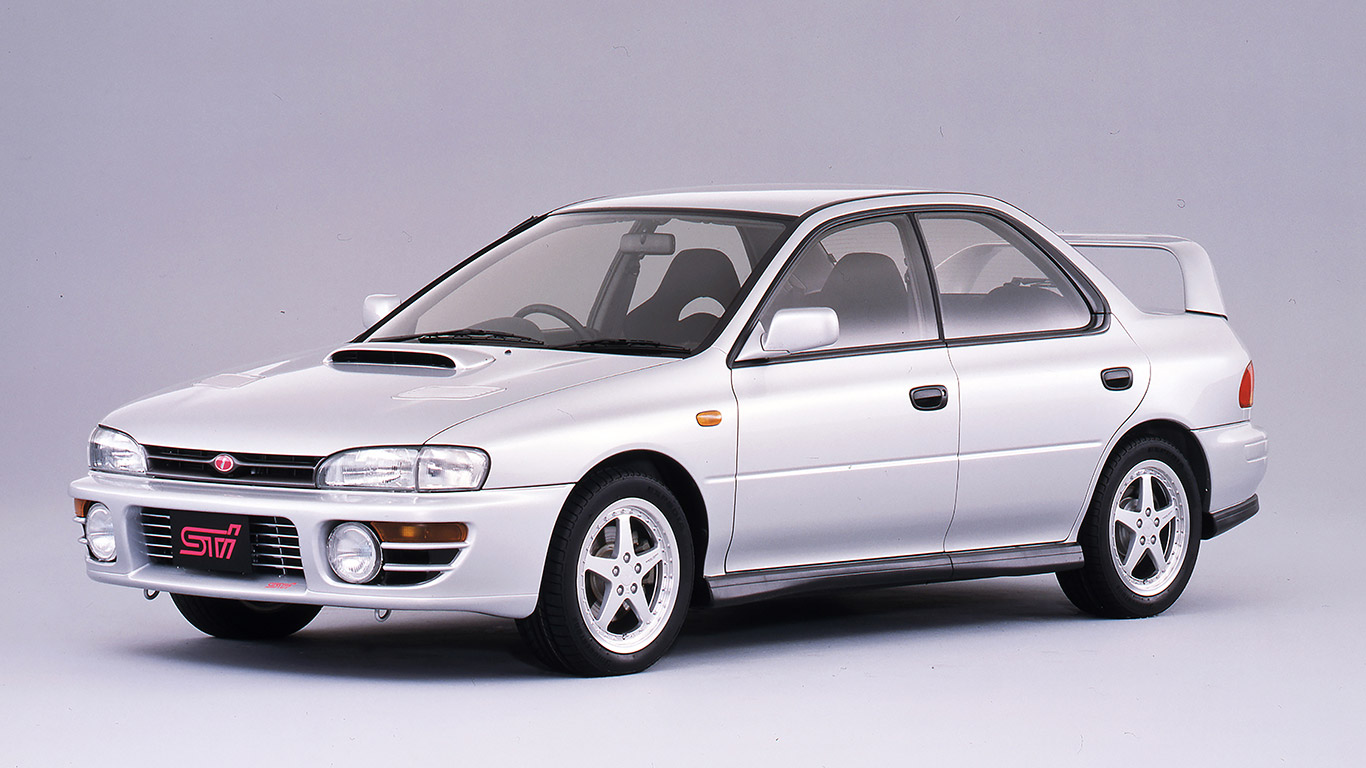 1994 Subaru Impreza WRX STi Version