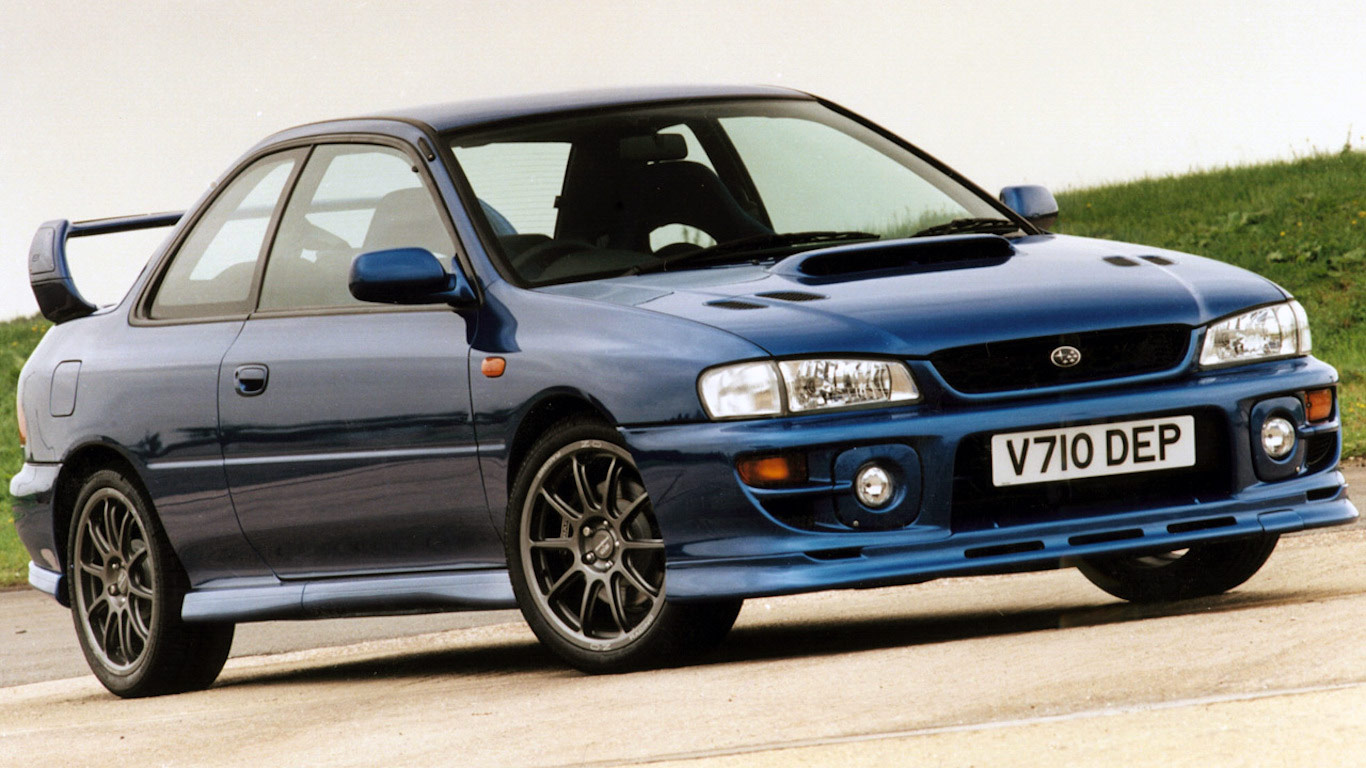 2000 Subaru Impreza P1