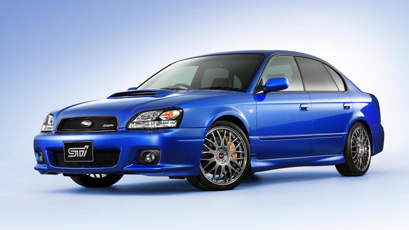 2002 Subaru Legacy S401 STi