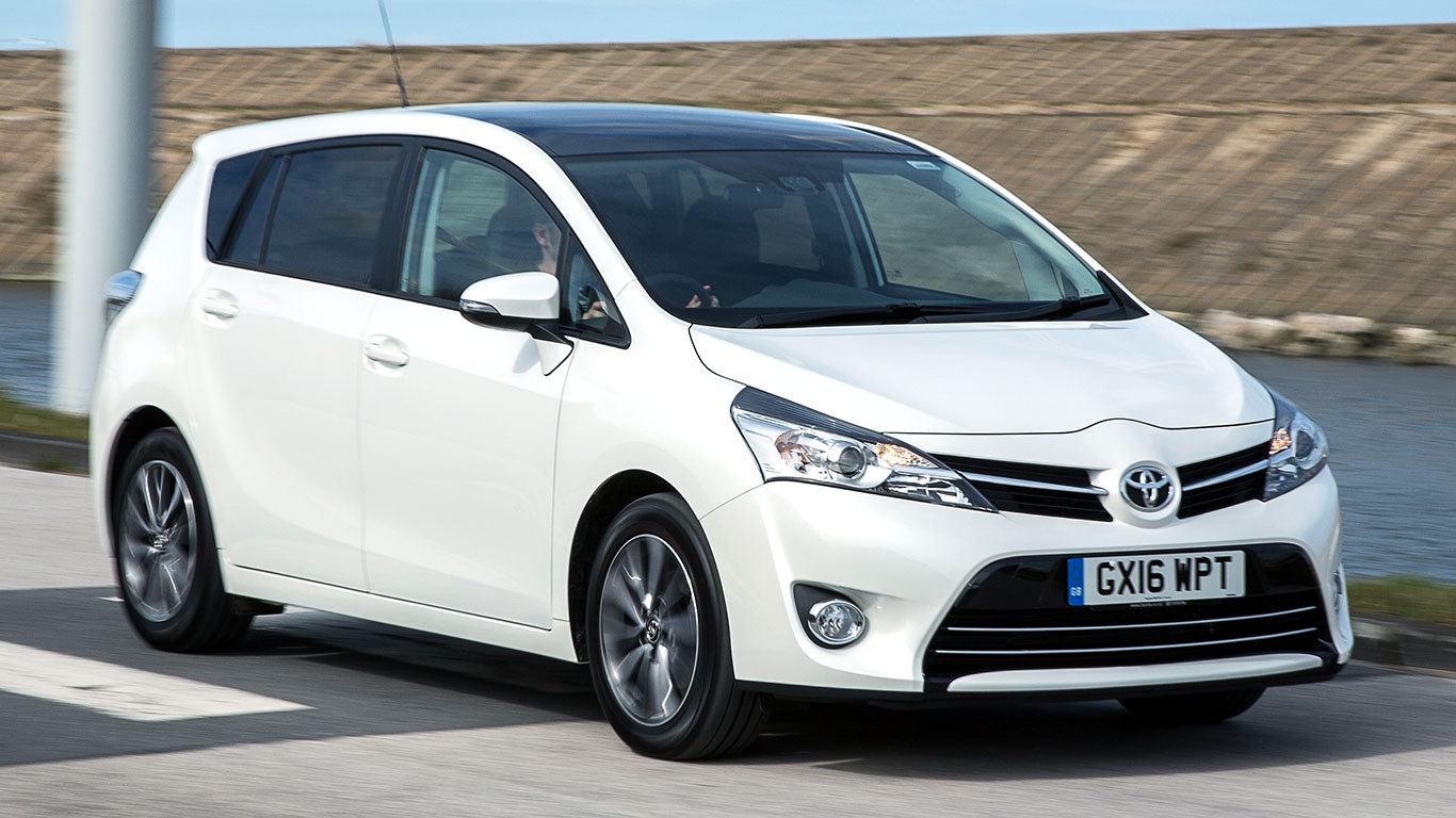 8: Toyota Verso