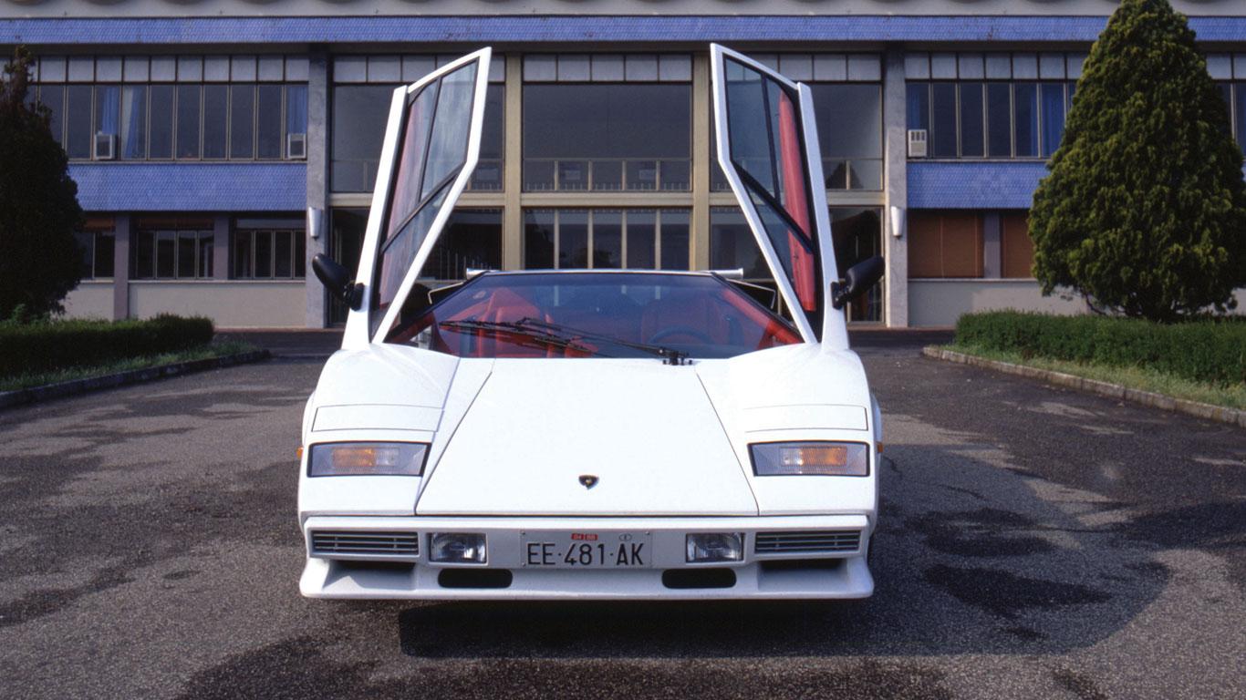 Lamborghini Countach Quattrovalvole
