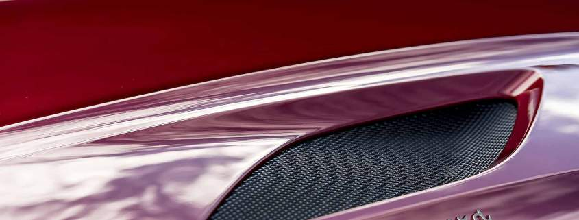 Aston Martin DBS Superleggera badge