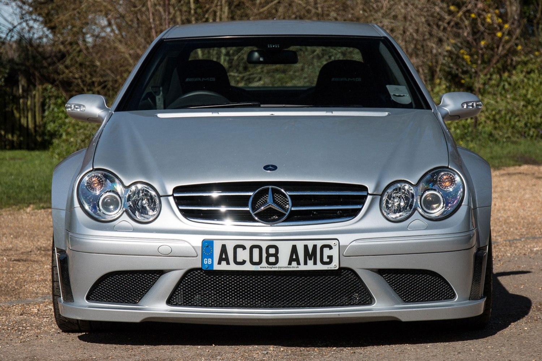 Mercedes CLK63 AMG Black