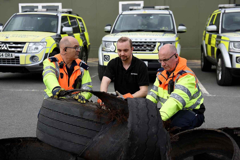 Highways England and Bridgestone tyre investigation