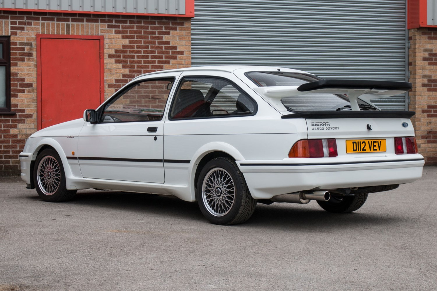 Sierra Auto Auction >> Ford Sierra Cosworth Rs500 Could Set A British Auction Record