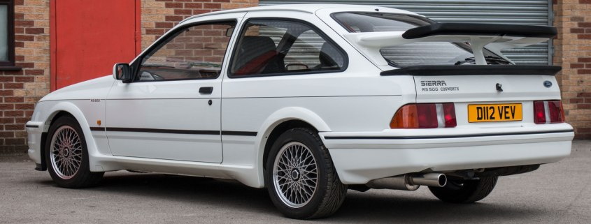 1987 Ford Sierra RS500 Cosworth Chassis No1 rear