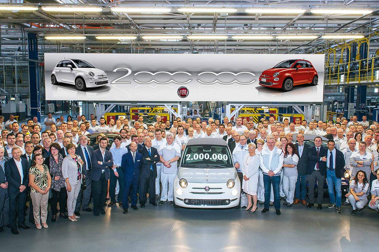 The 2 millionth Fiat 500