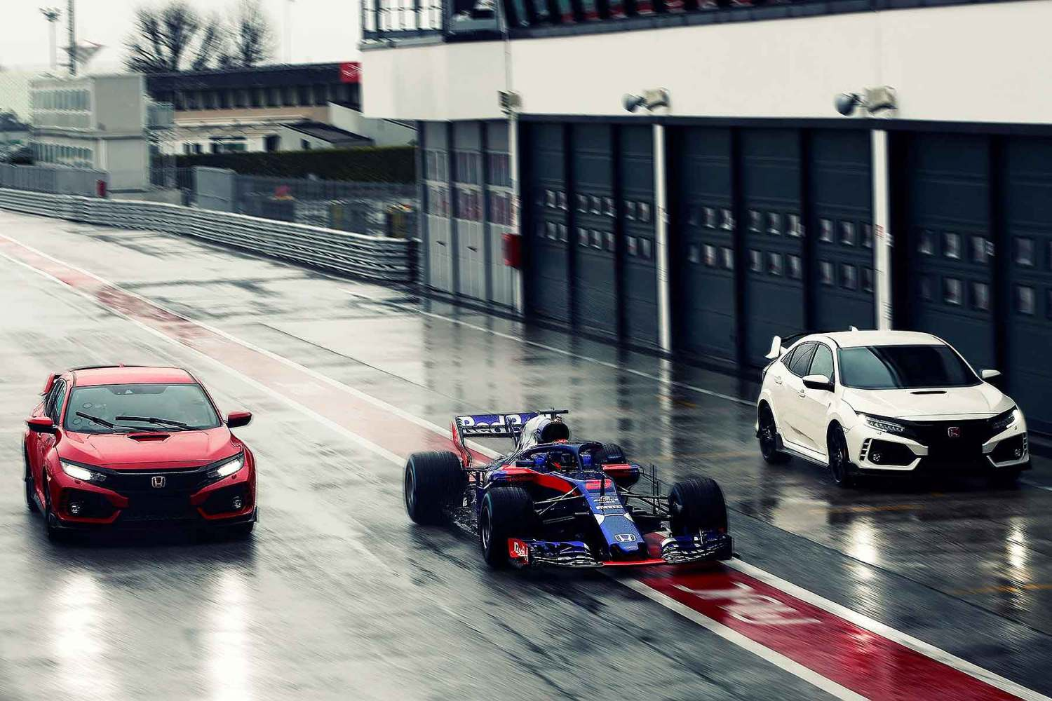 Honda Civic Type R is a Toro Rosso F1 driver's road car choice