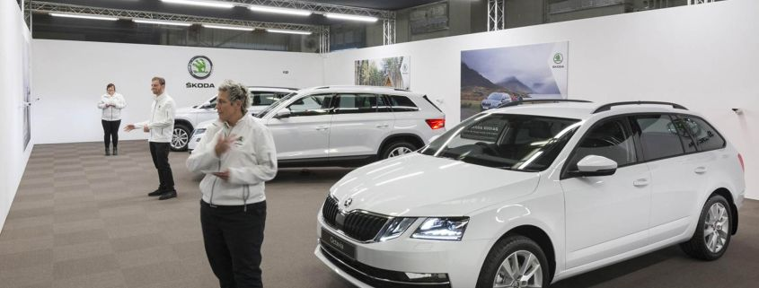 Skoda Live Tour Sales Success