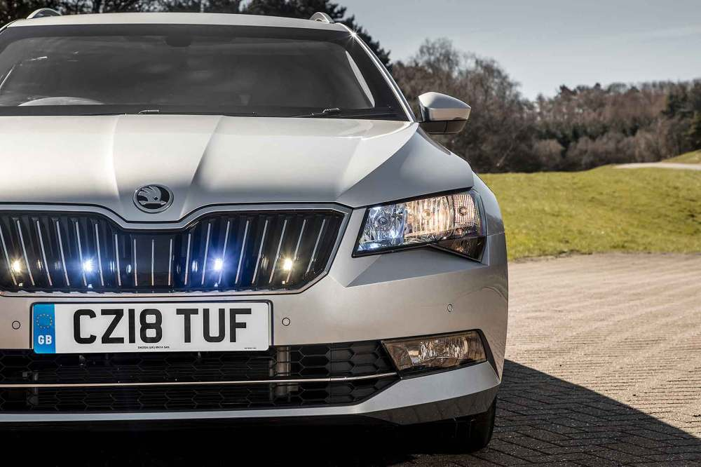 medium resolution of armoured skoda superb estate on sale for 118 688