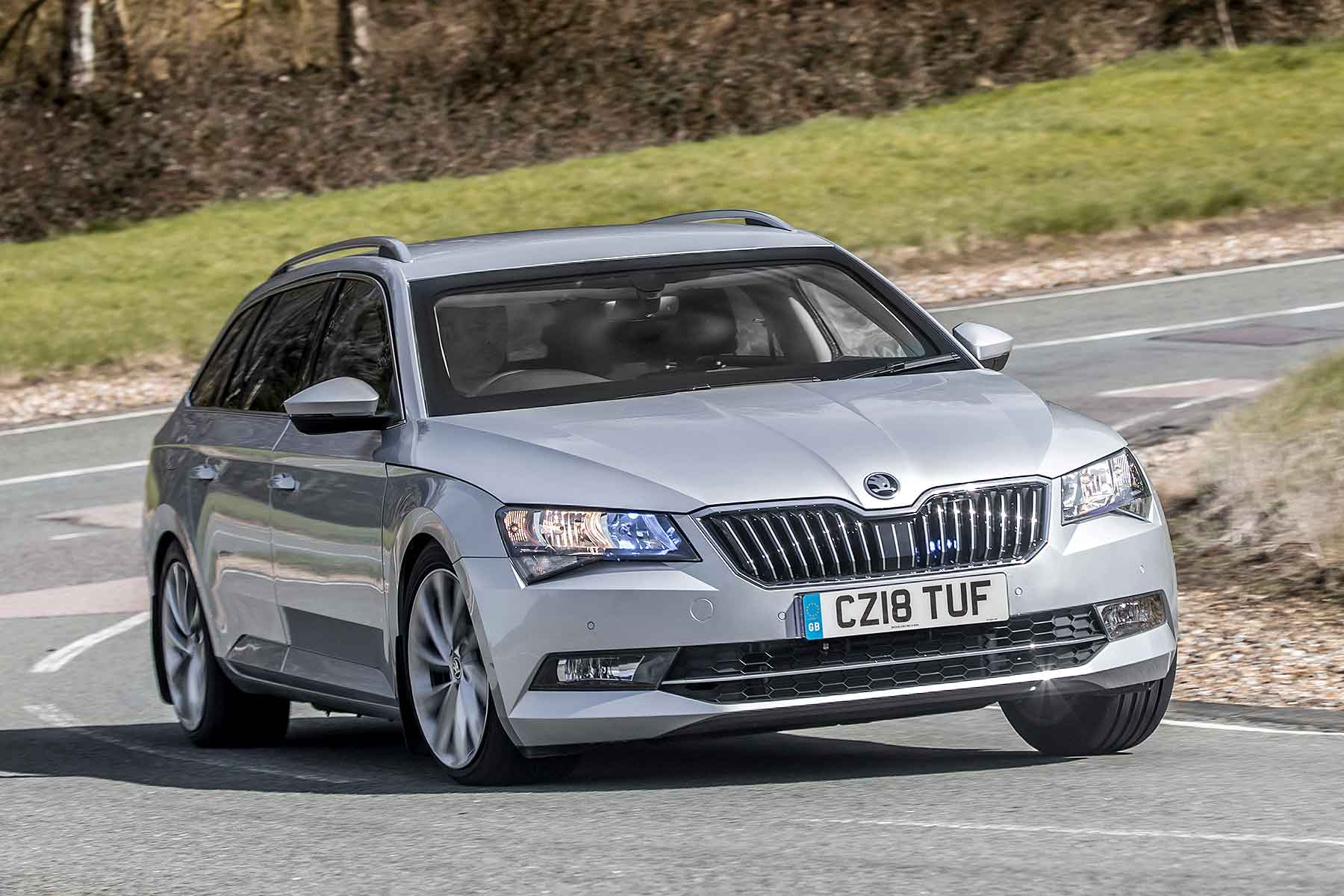 hight resolution of armoured skoda superb