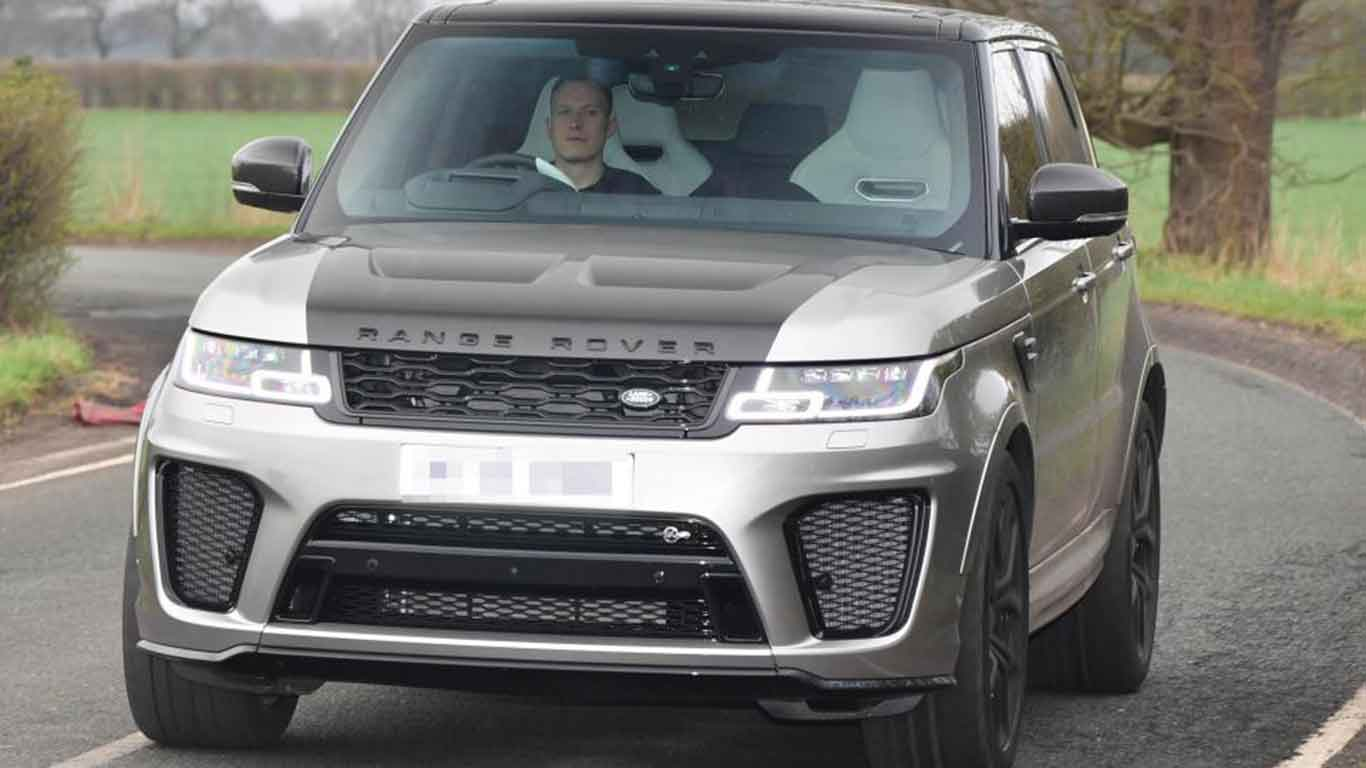 Cars of the England World Cup squad