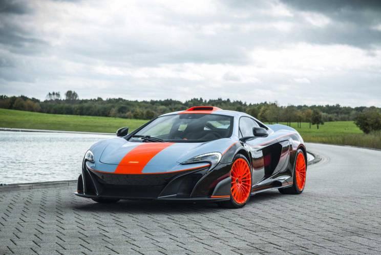 2018 McLaren MSO 675LT Gulf Racing