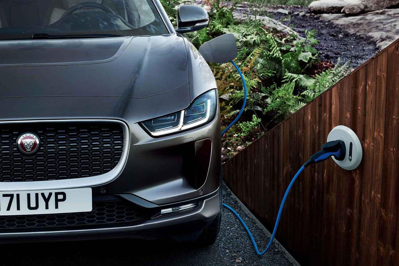 Jaguar I-Pace wallbox charging