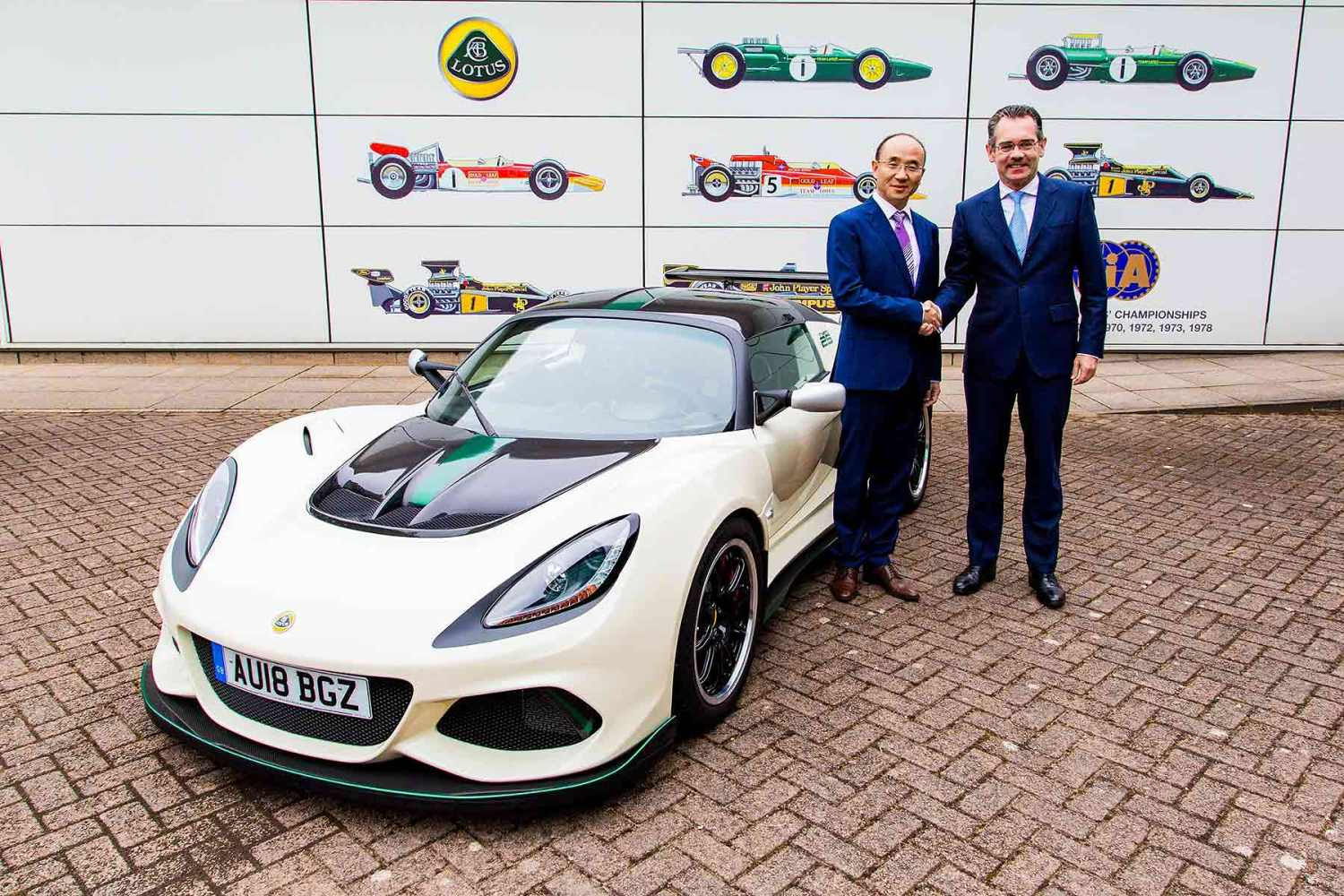 Group Lotus: Feng Qingfeng and Jean-Marc Gales