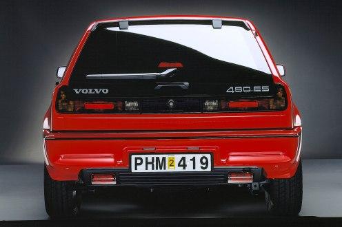 Volvo 480 ES rear